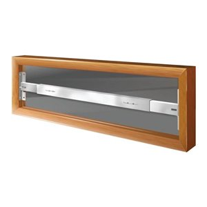 Mr. Goodbar 29-in x 6-in Swing-Away Window Security Bar (White)