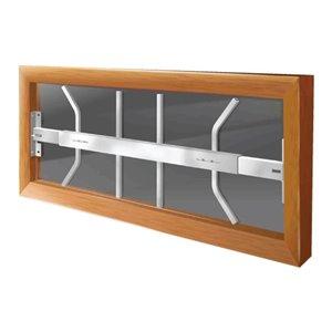 Mr. Goodbar 29-in x 12-in Swing-Away Window Security Bar (White)