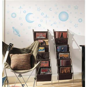 RoomMates Celestial Stars & Planets Glow in the Dark Wall Decals