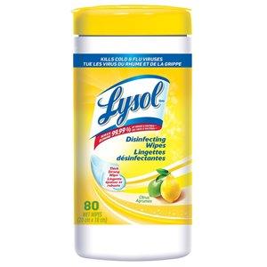 LYSOL Citrus Disinfecting Wipes