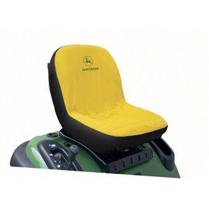 John Deere Yellow/Black Mid-Back Seat Cover