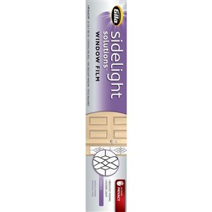 GILA 12-in x 72-in LaSalle Sidelight Solutions Translucent Widow Film