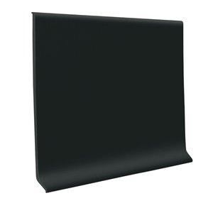 FLEXCO 4-in W x 50-ft L Black Dahlia Vinyl Standard Wall Base