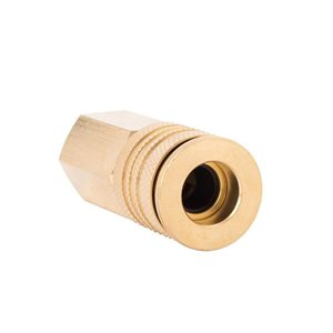 Kobalt 3/8-in Brass Female Universal Coupler