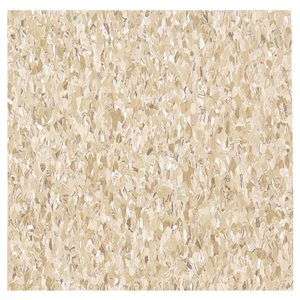 Armstrong Flooring 12-In x 12-In Cottage Tan Speckle Pattern Commercial Vinyl Tile