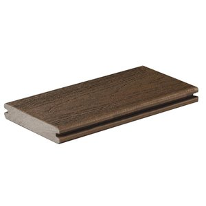 Timbertech Pro- Dark Roast 5.5-in x 16-ft Grooved Edge Deck Board - Reserve Collection