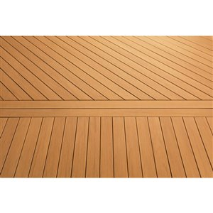 Timbertech Edge- Coconut Husk 5.5-in x 16-ft Grooved Edge Deck Board - Prime+ Collection