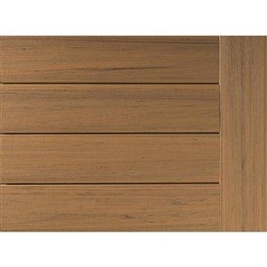 Timbertech Edge- Coconut Husk 12-in x 12-ft Fascia Deck Board - Prime + Collection