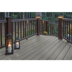 Timbertech Pro- Driftwood 12-in x 12-ft Fascia Deck Board - Reserve Collection