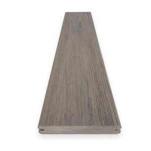 Timbertech Pro- Driftwood 5.5-in x 12-ft Grooved Edge Deck Board - Reserve Collection