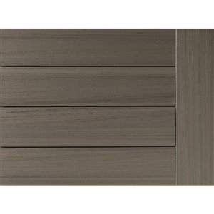 Timbertech Edge- Sea Salt Gray 5.5-in x 12-ft Grooved Edge Deck Board - Prime + Collection