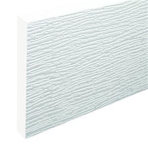3/4-in x 7-1/4-in x 12-ft Reversible Wood Grain PVC Trim Board
