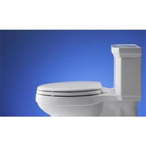 KOHLER Ridgewood Wood Elongated Toilet Seat
