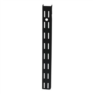 70 1/2-in Black Shelving Double Track Standard