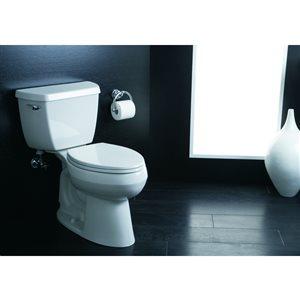KOHLER Ridgewood Wood Round Toilet Seat
