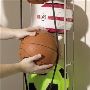 Rubbermaid FastTrack Vertical Ball Rack