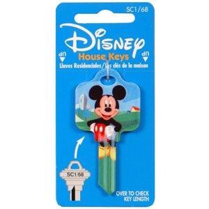 Hillman #68 Disney Mickey Mouse Key