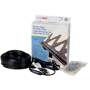 Easyheat 100 Ft Roof And Gutter De Icing Cable Fixed