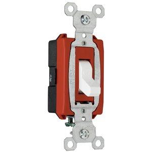 Legrand 20-Amp White Single Pole Switch