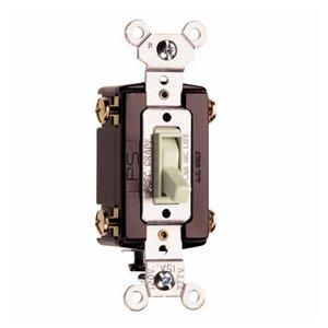 Pass & Seymour/Legrand 15-Amp Light Almond 4-Way Switch
