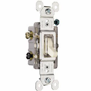 Legrand 15-Amp Light Almond Double Pole Light Switch