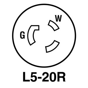 Legrand 20-Amp 125-Volt Black 3-Wire Grounding Connector