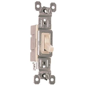 Legrand 15-Amp Light Almond Light Switch