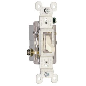 Legrand 15-Amp Light Almond Decorator Light Switch