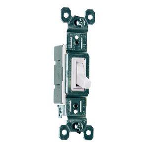 Legrand 15-Amp White Light Switch
