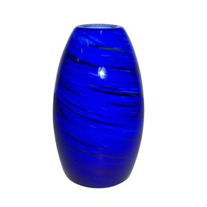Portfolio 4 5/8-in Blue Mini Pendant Shade