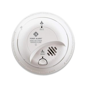 First Alert Hardwired Combination Smoke and Carbon Monoxide Detector with Battery Back-up