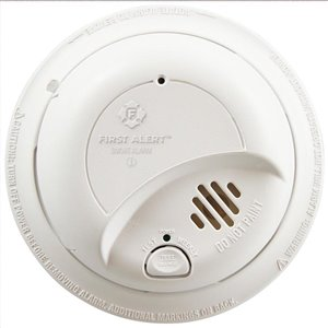 First Alert Hardwired 120-Volt Ionization Smoke Alarm with Battery Back-Up