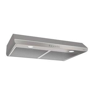 Broan Undercabinet Range Hood (Stainless steel) (; Actual: 29.875-in)