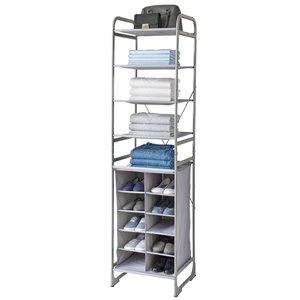 neatfreak Modular Tower 4 Shelf + 10 Cubby
