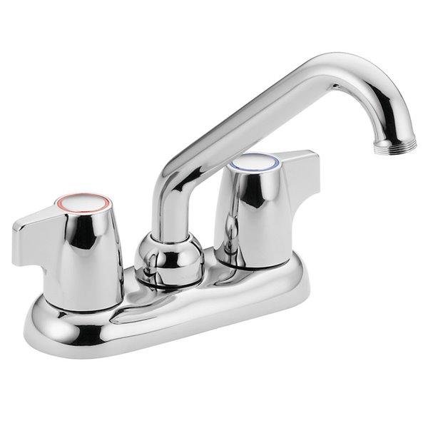 moen manor chrome 2 handle laundry faucet