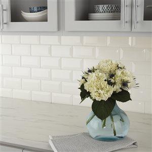 American Olean Starting Line Gloss White Glazed Ceramic