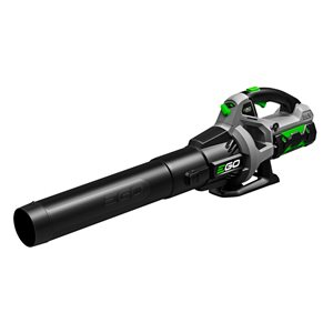 EGO POWER+ Brushless Handheld Cordless Electric Leaf Blower 530-CFM 56 V 110-MPH 2.5 Ah Battery & Charger Included