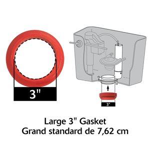 Korky Korky Large 3 -in Adjustable Flush Valve and Tank to Bowl Gasket Kit