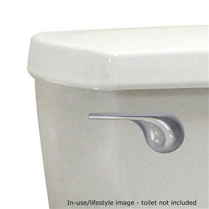Korky Korky StrongARM Toilet Flush Handle, Wave Chrome
