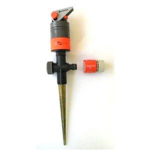GARDENA 4850 sq ft Rotating Spike Sprinkler