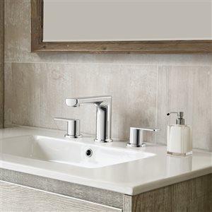 allen + roth 2-Handle Widespread Bathroom Sink Faucet Drain Included