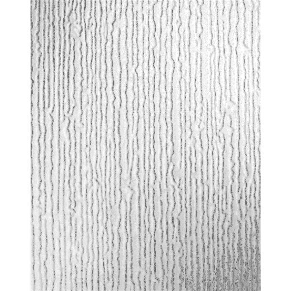 Metallic Vertical Faux Grasscloth Emboss Texture Wallpaper Modern ... | 600x600