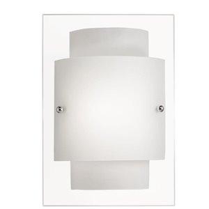 Portfolio 1-Light Chrome Pocket Wall Sconce