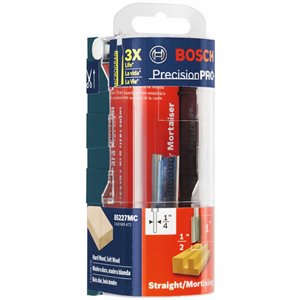 Bosch 1/2-in x 1-in Carbide-Tipped 2-Flute Straight Bit