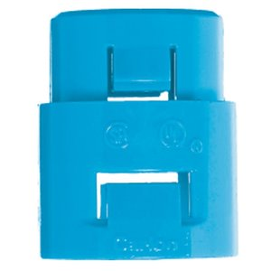 CARLON ENT Non-Metallic One-Piece Snap-in Adapter, Size 1 -in