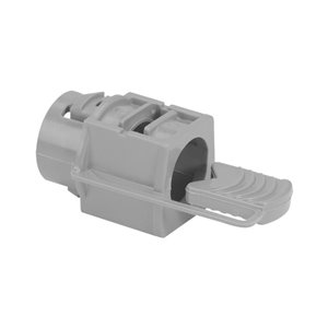 Iberville Snap-in Nonmetallic Connector for NMD90 Cable, 1/2 In, Grey, Box of 20