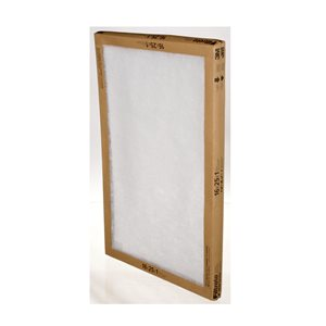 Filtrete Filtrete� Flat Panel Air Filter, FPL01-2PK-24, 16 in x 25 in x 1 in (40,6 cm x 63,5 cm x 2,54 cm), 2 per pack