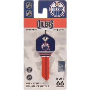 Hillman #66 Key NHL Edmonton Oilers
