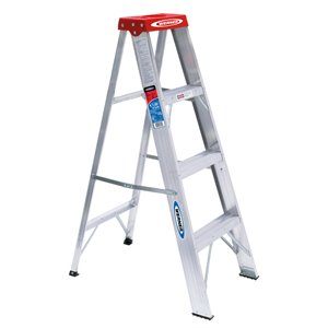 Werner 4-ft Type 3 - 200 lbs. Capacity Aluminum Step Ladder