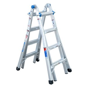 Werner 17-ft Type 1A - 300 lbs. Capacity Aluminum Multi-Position Ladder